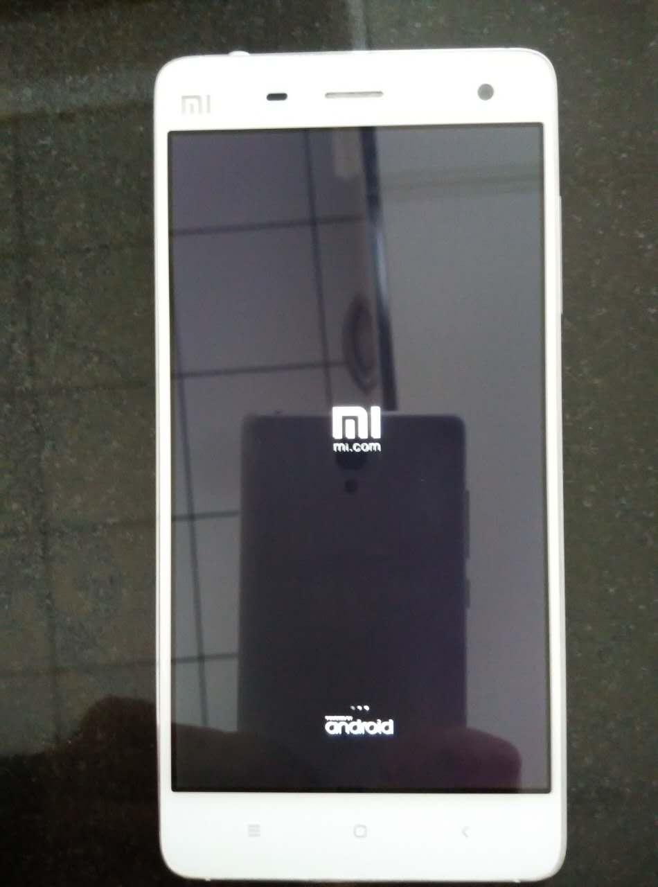 小米手机4突然黑屏卡在logo画面不动的重启方法