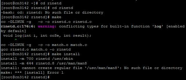 linux下的端口映射工具rinetd