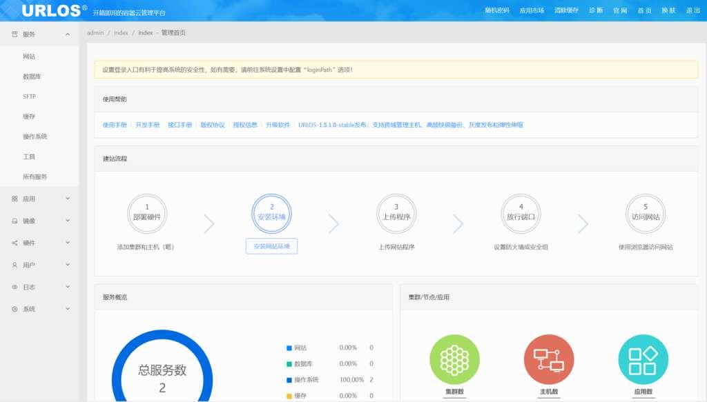 linux服务器docker面板2020岁末活动:20.21元/终身授权